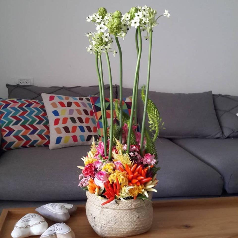 פרחים בית חולים מאיר