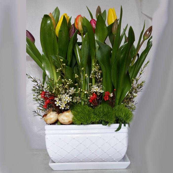 סידור פרחים w