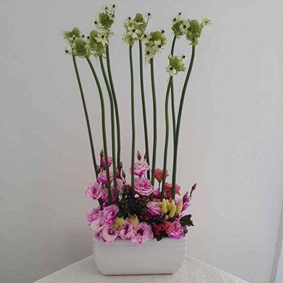 סידור פרחים אצילי