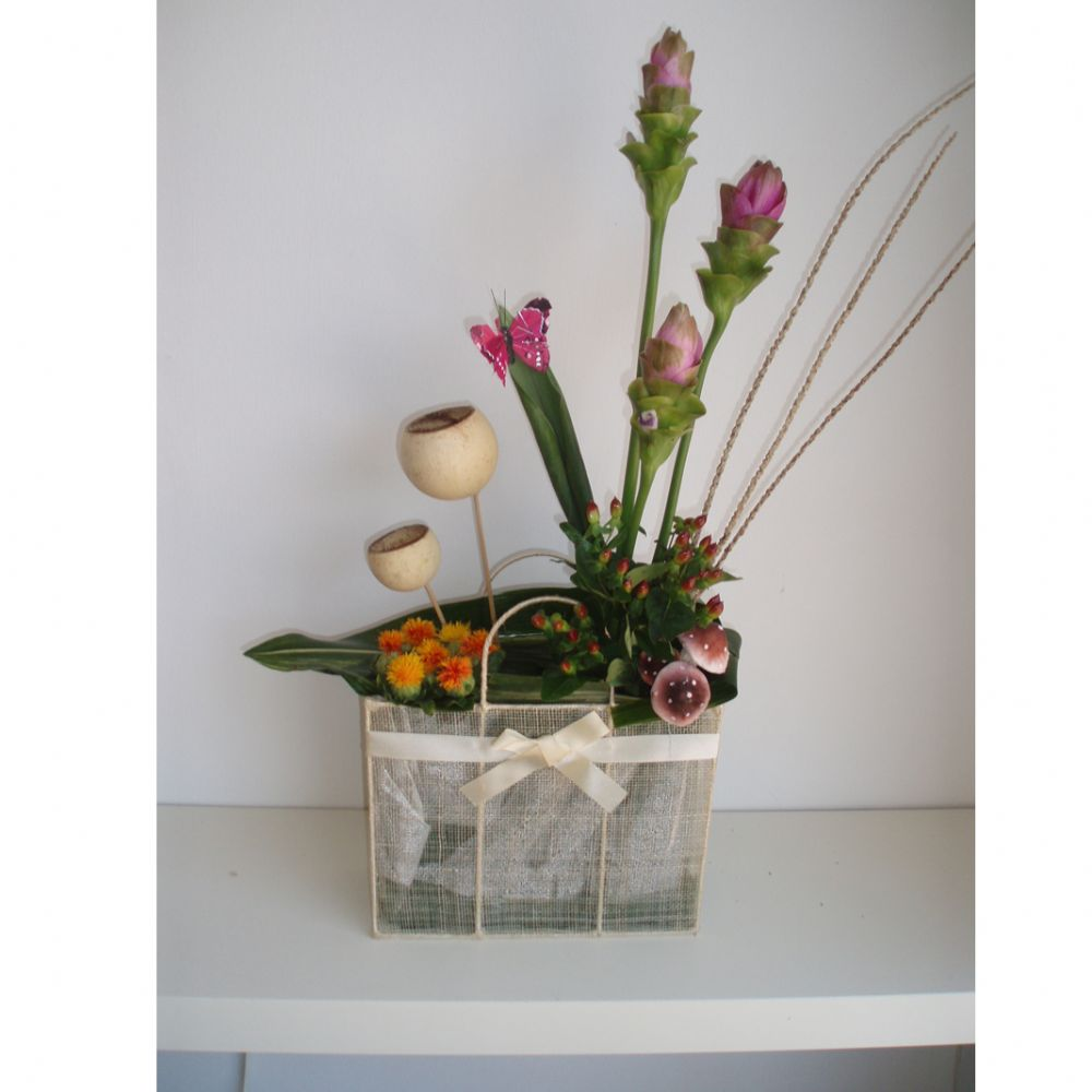 סידור פרחים תיק