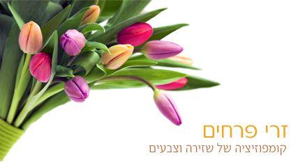 כיצד שולחים היום פרחים